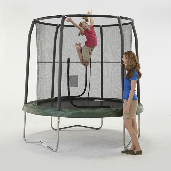 Bazoongi Jumppod 7.5ft Trampoline And Enclosure Model