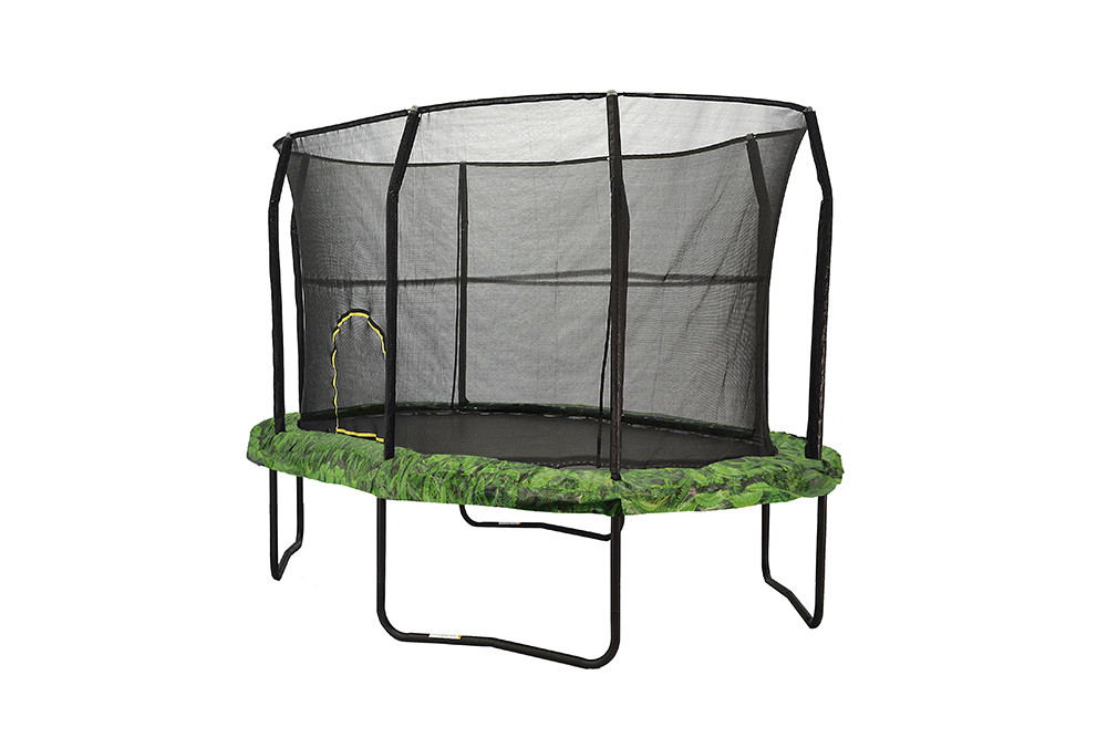 JK812FN - JumpKing Oval 8' x 12' With Fern Graphic Pad