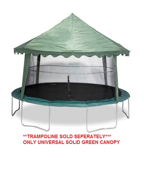 UNIVERSAL 14' CANOPY COVER (SOLID GREEN) Model#ACC-USGC14