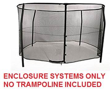 14ft Bazoongi Combo Enclosure System Model BZ1409E4 TRAMPOLINE SOLD SEPARATELY