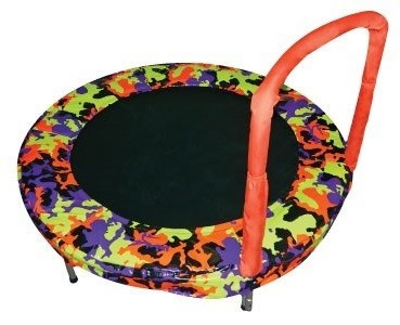 "JumpKing 48"" Bouncer Camoflouge Orange Model JK48CO"
