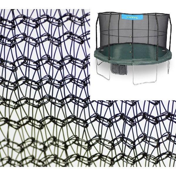 15' Enclosure Netting For 6 Poles With JumpKing Logo Model NET15-JP6/7JK