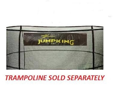 "15' Enclosure Netting For 5 Poles For 7"" Springs With JK Logo Model NET15-JP5/7JK"