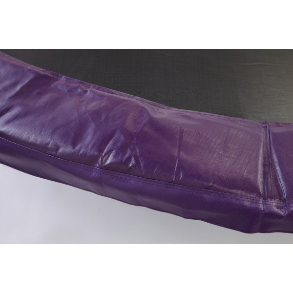 "14ft Purple Safety Pad  10"" Wide Model PAD14-10PR For 5.5"" or 7"" Inch Sized Springs"