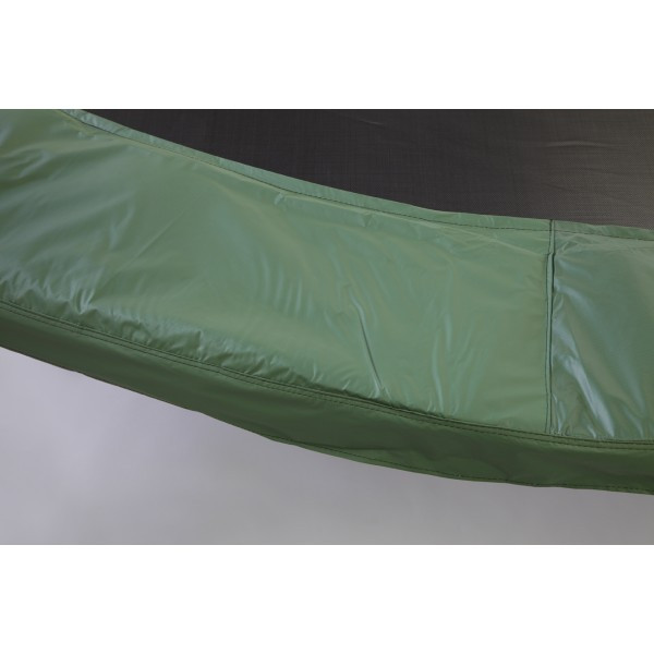 """15ft Green Safety Pad 13"""" Wide Model PAD15-13G For 8.5""""  Inch Sized Springs"""