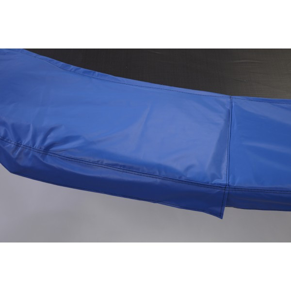 "12ft Blue Heavy Duty Safety Pad 13"" Wide Model PAD12HD-13B For 8.5 inch sized Springs"