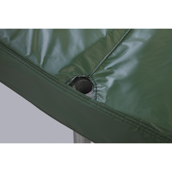 "15ft Green Safety Pad For 4 Poles 13"" Wide Model PAD15JP4-13G"
