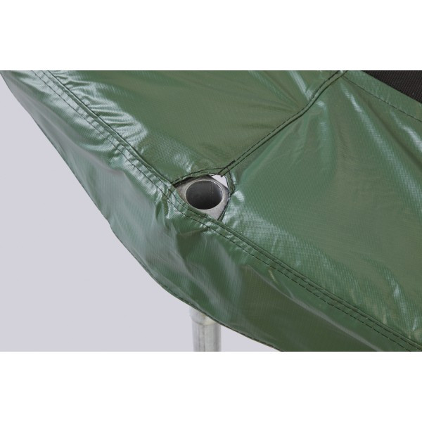 """7.5Ft. Green Safety Pad For 6 Poles 9"""" Wide Model PAD75JP6-9G"""