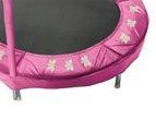 "48"" Pink Butterfly Trampoline Pad Model PAD48-7P"