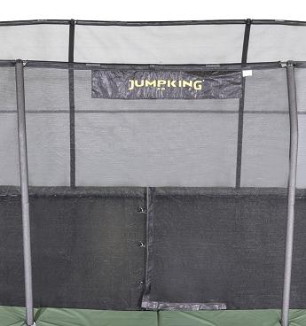 Rectangular 7' X 10' Enclosure Netting For 8 Poles With JK Logo Model NETRC710-JP8/7JK