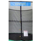 "15' Heavy Duty Enclosure Netting For 4 Arches For 7"" Springs With JK Logo Model NET15-4A/7JK"