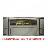 "12' Enclosure Netting For 5 Poles For 5.5"" Springs With JK Logo Model NET12-JP5/5.5JK"