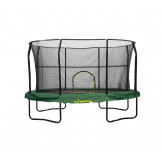 JK812GR JUMPKING OVAL 8' x 12' WITH SOLID GREEN PAD