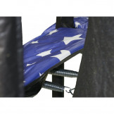 """9'X14' AMERICAN STAR GRAPHIC OVAL SAFETY PAD 13"""" WIDE FOR 8 POLES (PAD ONLY) Part#PADOV914JP8-13AS"""