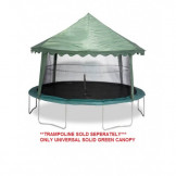 UNIVERSAL 15' TRAMPOLINE COVER (SOLID GREEN) Model ACC-USGC15