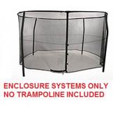 15ft Bazoongi Combo Enclosure System Model BZ1509E4 **TRAMPOLINE SOLD SEPARATELY**