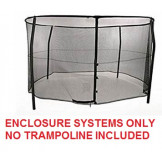12ft  Bazoongi Combo Enclosure System Model BZ1209E4 TRAMPOLINE SOLD SEPARATELY