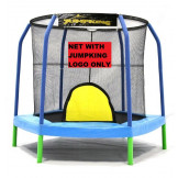 7.5' Hexagon Enclosure Net For 6 Poles With JumpKing Logo Model NETHX7.5-JP6/5JK **TRAMPOLINE SOLD SEPARATELY**