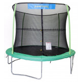 10 ft JumpKing Trampoline And Enclosure 4 Legs/4 Poles JK1044
