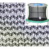 14' Enclosure Netting For 6 Poles With JumpKing Logo Model NET14-JP6/7JK **TRAMPOLINE NOT INCLUDED**