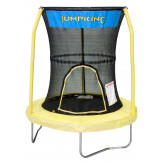 "55""  Trampoline With 3 Poles Enclosure System (Yellow) Model BZJP55Y"
