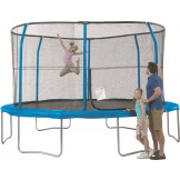 13 FT TRAMPOLINE & ENCLOSURE SYSTEM (6 LEGS/ 6 POLES) JK13SO17-DAL