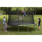 14' Trampoline Combo with Basketball Hoop Part # JK146PBH-DAL
