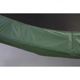 """15ft Green Safety Pad 10"""" Wide Model PAD15-10G For  5.5"""" or 7"""" Inch Sized Springs"""