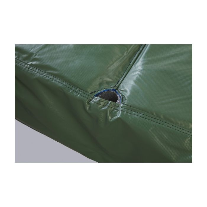 JumpKing PAD15JP5-10G 15 Green 5 Poles 10 Wide Safety Pad